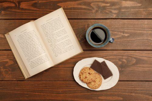 クッキーと本