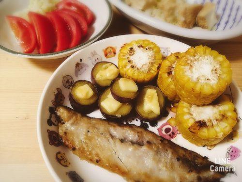 焼き魚の副菜なら夏はトウモロコシ
