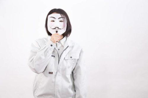 仮面をかぶる社員