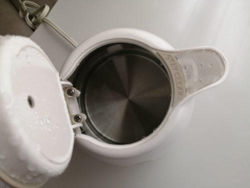 ティファールの電気ケトル水垢をクエン酸で落とす方法