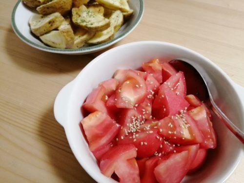 コウケンテツレシピトマトのナムル
